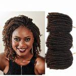 Großhandel 30 Strands / Pack 8 Zoll Afro Haar Nubian Kinky Nubian Twist  Braid Haar Synthetische Frühling Twist Häkeln Braid Von Sherrywang0524,