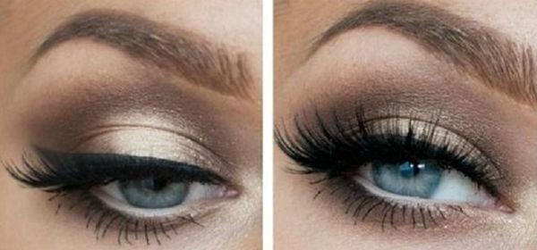 Top Tipps für Augen Make-up   für blaue Augen