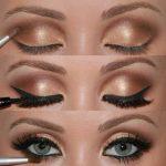 Das Augen Make-up – 21 Ideen zum Betonen blauer Augen