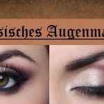 Klassisches Augenmakeup
