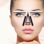 Großhandel Permanent Make Up Tattoo Augenbrauen Lineal Messwerkzeug Metall  Augenbraue Balance Lineal Shaping Stencil Tools Von Gorgeous08, $24.59 Auf  De.
