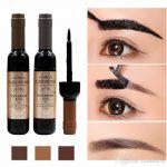 Großhandel 2018 Marke Makeup Augenbrauen Enhancer 1 Stücke Augenbraue  Schwarz Kaffee Grau Peel Off Augenbraue Tattoo Schatten Augenbraue Gel  Kosmetik Make