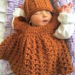 crochet-baby-set-14 Baby Girl Crochet, Newborn Crochet, Crochet For