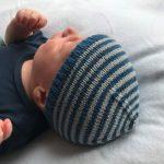 schoenstricken Baby Ringelmütze 1