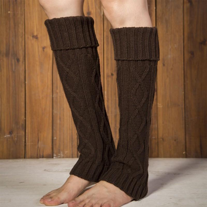 Halten Sie Ihre Beine mit   verschiedenen Strickmustern für die Beinlinge warm