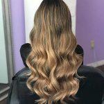 5 ) Schmutzige Braune Blonde Haar