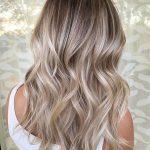 blonde Brünette Balayage Haarfarbe 2018