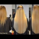 Die perfekte Haarverlängerung: Brasilianische Methode erklärt! - YouTube