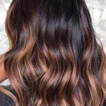 Schokolade Braun Haarfarbe mit Highlights | Haarfarbe Ideen … – Damen Haare