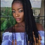 Cornrow-Zopf-Frisur 2019 | Trendy Frisuren Ideen 2019 | Frisuren #frisuren  #madame #Kurzhaarfrisuren #Frisur #Frauen # 2019 #Haar | meine Frisuren