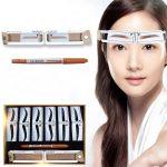 Großhandel Goldener Schnitt Messen Microblading Augenbraue Schablonen  Modelle, Die Dauerhaftes Make Up Tätowierungs Entwurf Bremssättel  Schablonen