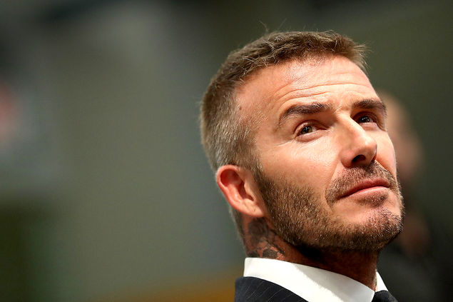 David Beckham Frisuren:   verschiedene Trendsetter