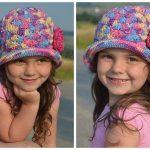Kinder-Hut // Sonnen-Hut selber häkeln - DIY