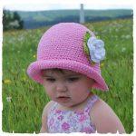 Sommer-Hut selber häkeln - DIY-Kinder-Hut ☆ | BABY HAT 1