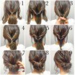 5 Minute Hair Bun fashion hair diy hairdo updo hairstyle bun instructions  directions step by step how to pictorial tutorial (perfect bun tutorial)