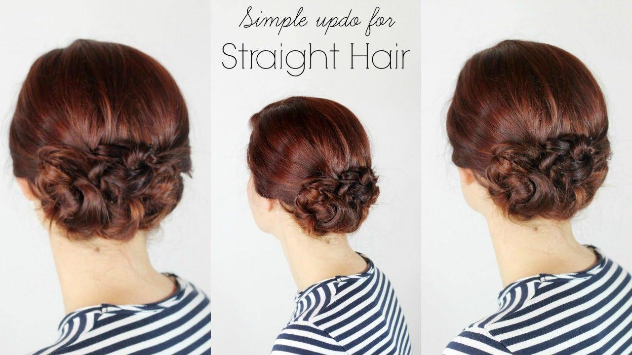 Die schönsten Easy Hair Updos
