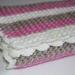 Baby BlanketGirls Stroller Baby BlanketBaby by HappyWoollies, €54.00 Häkeln  Anleitung, Baby Mädchen Decken
