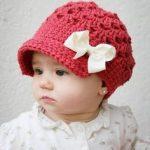 Baby # Mädchen # Häkeln Hut # Muster - 10 einfache Häkeln Hut Muster .