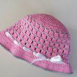Diesen süßen Baby Hut kannst Du ganz einfach selbst häkeln. Mein Ebook  enthält viele Detailfotos mit Schritt-für-Schritt-Anleitung.