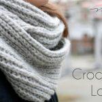 Easy Loop Schal / Simple Infinity Scarf Crochet DIY - Neu: Mit  Video-Tutorial!