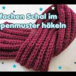 Crochet Poncho - Einfachen SCHAL häkeln - Patentmuster - für Anfänger  Patentmuster Stricken, Schal Stricken