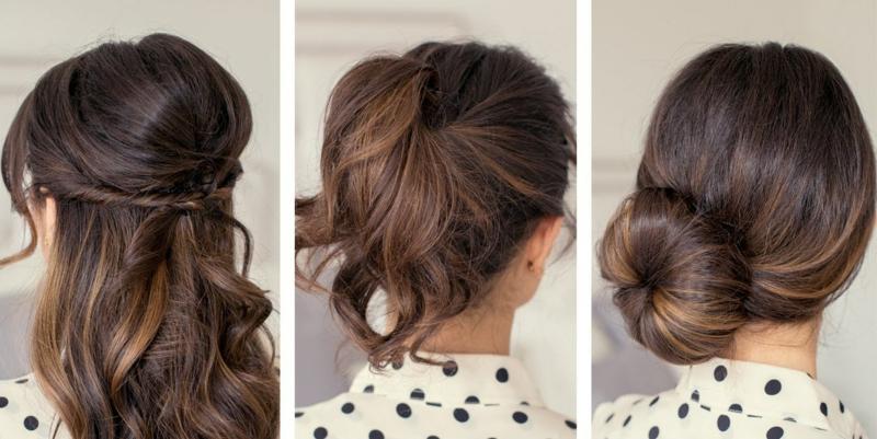 Chic und Eleganz – zwei   Qualitäten in einem mit leichten Frisuren
