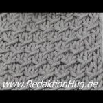 Stricken - Einfaches Flechtmuster - Veronika Hug - YouTube