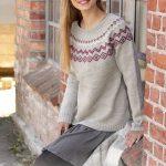 Norweger Pullover Herren, Stricken Von Oben, Pullover Stricken, Einfache  Strickprojekte, Stickmuster,