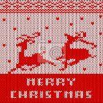 Weihnachtsstrickmuster fototapete u2022 fototapeten Strickwaren, Woll