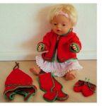 Puppekleidung stricken kostenlos