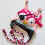 Häkeln piraten eule hut, häkeln eule hut, Strickmütze Hut kinder Herbst Und  Winter Caps Toddler Niedliche Cartoon Tier Hüte in Häkeln piraten-eule hut,