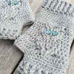 Owl Gloves Crochet Pattern Stulpen, Handschuhe, Stricken, Häkeln Handschuhe  Muster, Eulen Häkelanleitungen