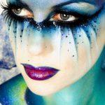 Love this Fantasy Hair, Fantasy Make Up, Alien Makeup, Eye Makeup, Kryolan