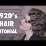 Die stilvolle und freche   Frisur der 1920er Jahre