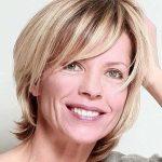10.Bob Haarschnitt für Ältere Frauen   Mittellange Haarschnitte