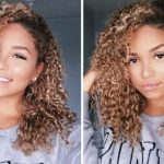 How To Clip-in Curly Extensions for 3b 3c Hair| Bella Kurls | Ashley