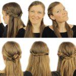 6 schnelle FRISUREN für halb offenes Haar ♡ easy DIY