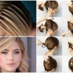 Frisuren Mittellange Haare Anleitung