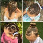 Frisur für die Schule: So stylt eine Mutter die Haare ihrer Tochter