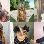 Machen Sie sich mit den   verschiedenen Frisuren für Mädchen bekannt