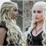 Game of Thrones Frisuren Khaleesi Flechtfrisur halboffen 10 Game of Thrones  Frisuren für Frauen – Ideen, Bilder und Video-Anleitungen