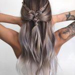 Schöne geflochtene Frisuren für langes Haar - lange Frisur Designs