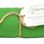 Handtuch, Küchentuch gestrickt / grün H51 Solwang