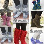 Einzigartige Ideen, gestrickte   Slipper-Stiefel zu tragen
