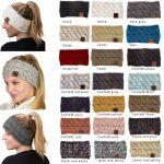 Finden Sie heraus, stilvolle   Looks in den gestrickten Stirnbändern