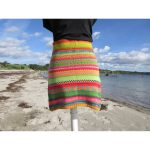 Mode :: Röcke :: Bunter Strickrock Joan Gr. M - gestrickter Rock in  nordischen Fair Isle Mustern