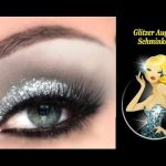 augen größer schminken, silvester augen make up  - YouTube