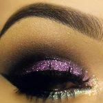 Silberhoch - Lila Und Silber Glitter Augen #2033204 - Weddbook