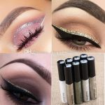 2017 Liquid Glitter Eyeliner Eyeshadow Shiny Waterproof Long Lasting