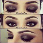 Makeup - Glitter Smokey Eyes #2064268 - Weddbook